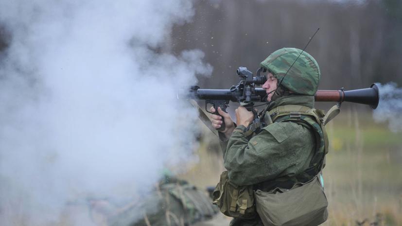В Воронежской области прошли сборы гранатомётчиков ЗВО