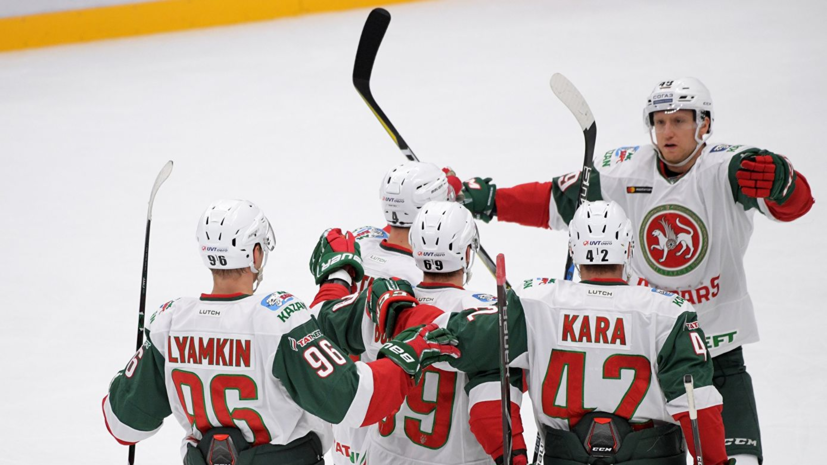 Шайба Зарипова помогла «Ак Барсу» победить «Трактор» в матче КХЛ