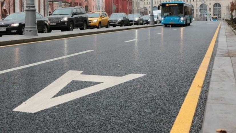 Временные выделенные полосы заработают 23 декабря на Ленинградском проспекте и Хорошёвском шоссе