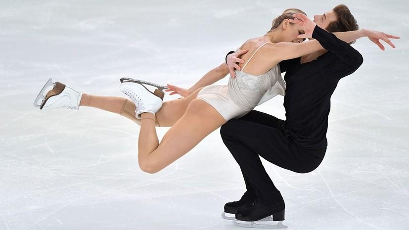Первый титул в России: Синицина и Кацалапов выиграли ЧР по фигурному катанию в танцах