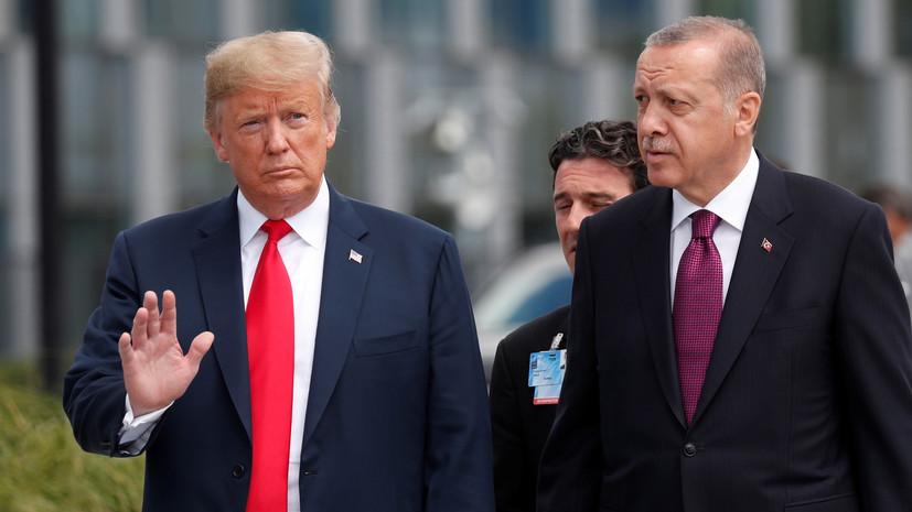 Источник: Трамп сказал Эрдогану, что конгресс не будет блокировать продажу Patriot