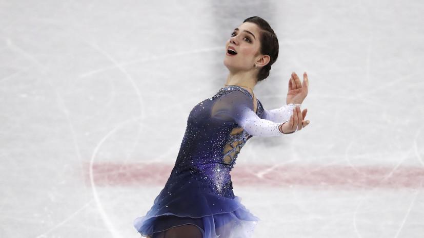 Тарасова пожелала Медведевой удачи на тренировке перед произвольной программой на ЧР