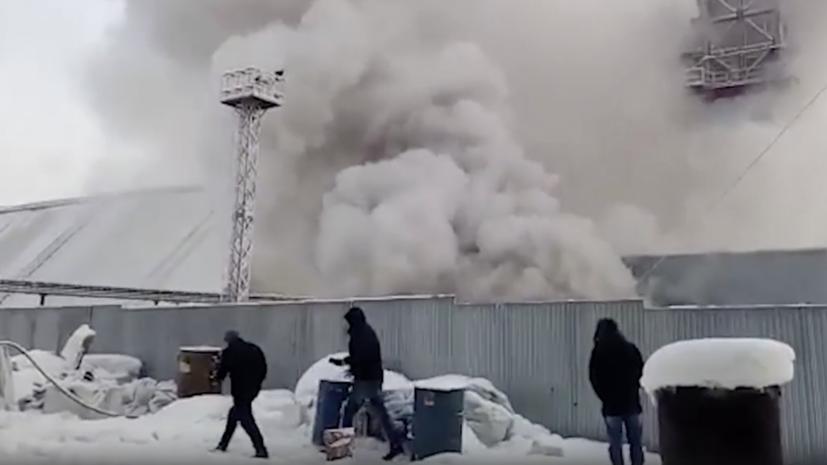В сети появилось видео пожара на шахте в Пермском крае