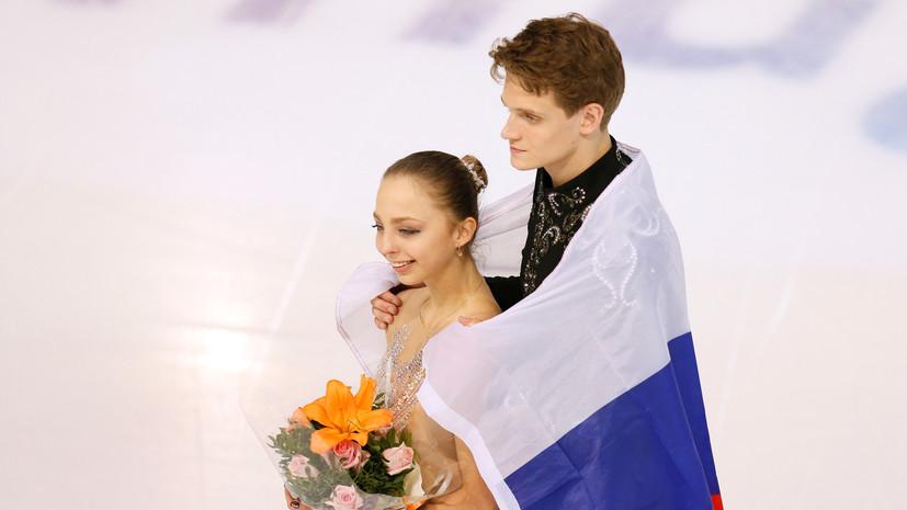 Фигурист Козловский назвал чемпионат России одним из самых интересных и сложных стартов в сезоне