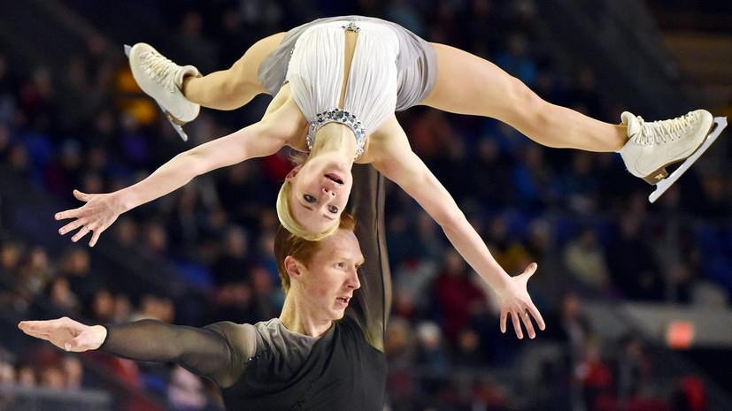 Золото Тарасовой и Морозова и новый титул Транькова: на ЧР по фигурному катанию разыграны медали среди пар