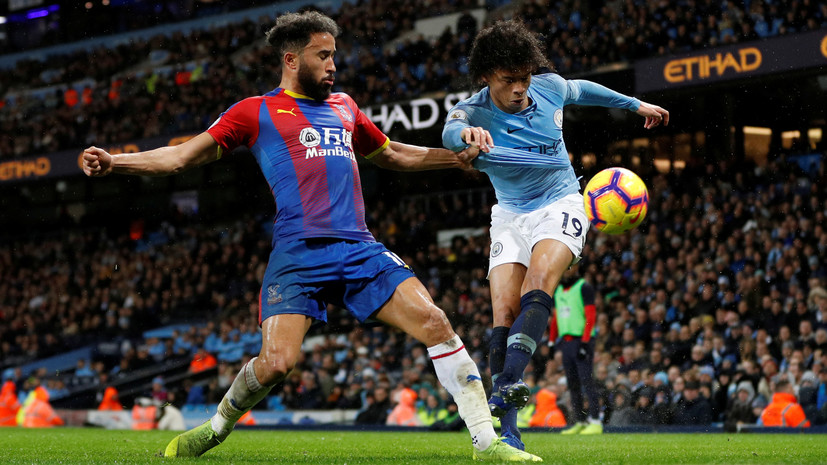 «Манчестер Сити» потерпел второе поражение в сезоне АПЛ, уступив «Кристал Пэлас»