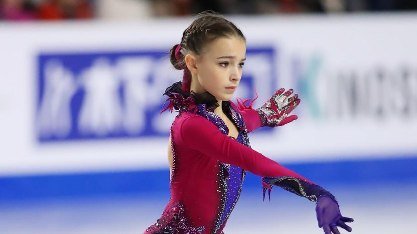 Щербакова стала победительницей ЧР по фигурному катанию