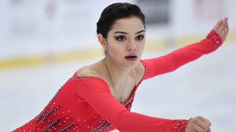 Медведева стала четвёртой в произвольной программе и заняла седьмое место на ЧР