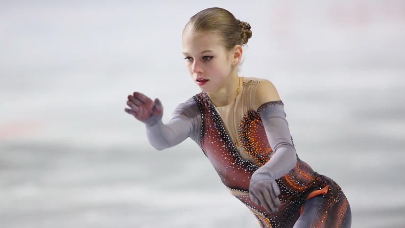 Трусова: я сделаю всё возможное, чтобы сохранить четверные прыжки