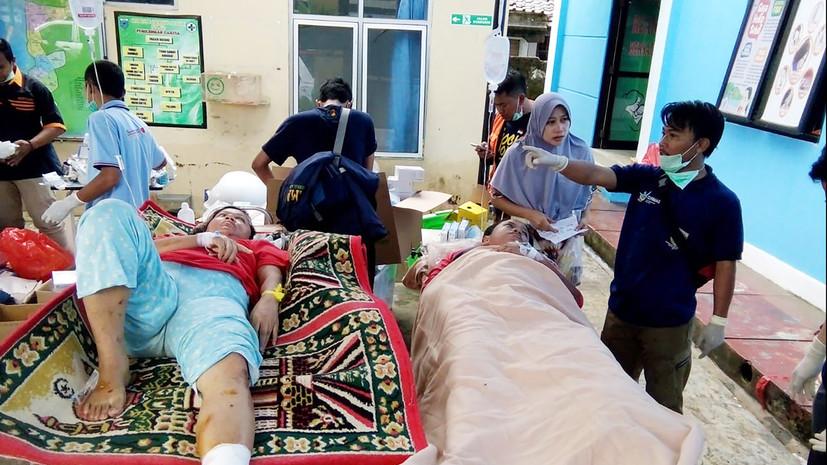 Число погибших из-за цунами в Индонезии увеличилось до 62