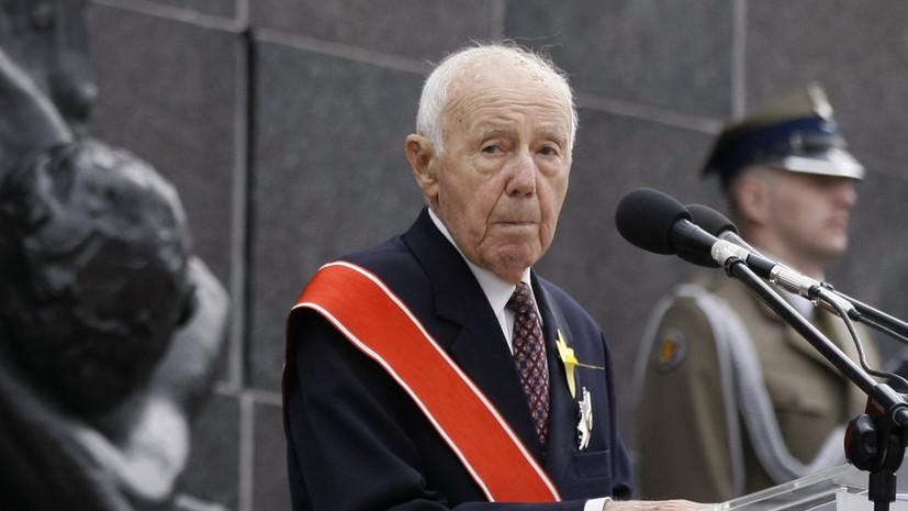 Скончался последний участник восстания в Варшавском гетто