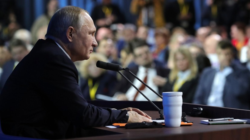 Песков рассказал о выступлениях «нежурналистов» на пресс-конференции Путина