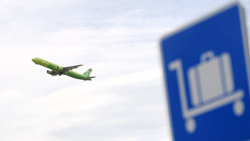 СМИ: Пассажирский самолёт сел в Домодедово из-за отказа двигателя
