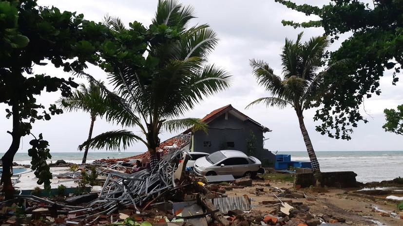 Медведев выразил соболезнования лидеру Индонезии в связи с жертвами цунами