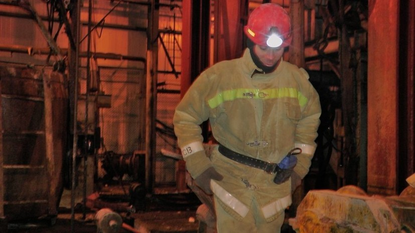 Тела всех жертв пожара на шахте в Соликамске подняты на поверхность