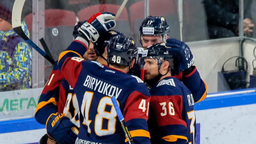 «Металлург» обыграл «Слован» в матче КХЛ