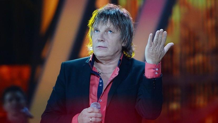 Певца Виктора Салтыкова не пустили в Киев из-за «отсутствия средств»