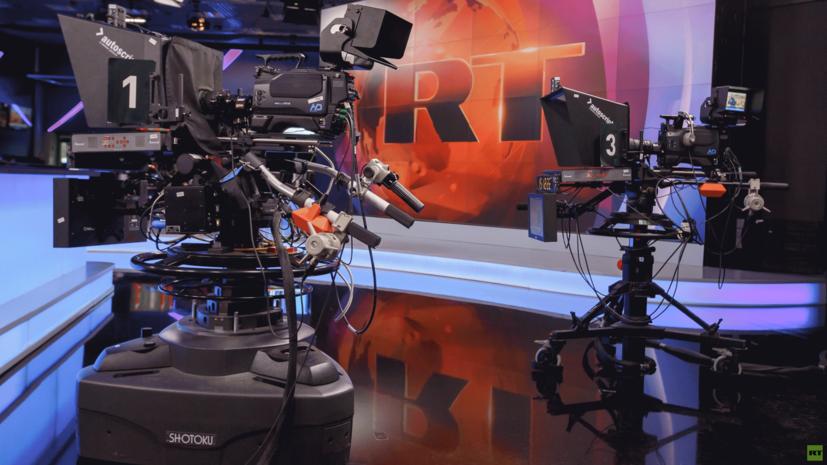 В СБУ заявили о блокировке ретрансляции RT в Винницкой области