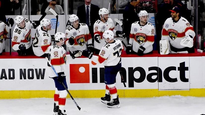 «Флорида» с Дадоновым победила «Чикаго» в матче НХЛ
