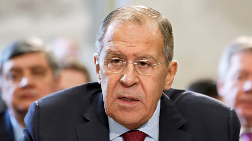 Лавров заявил о важности пересмотра ситуации с санкциями против КНДР
