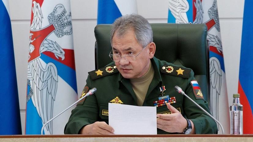 Шойгу заявил о беспрецедентной оснащённости армии современным оружием