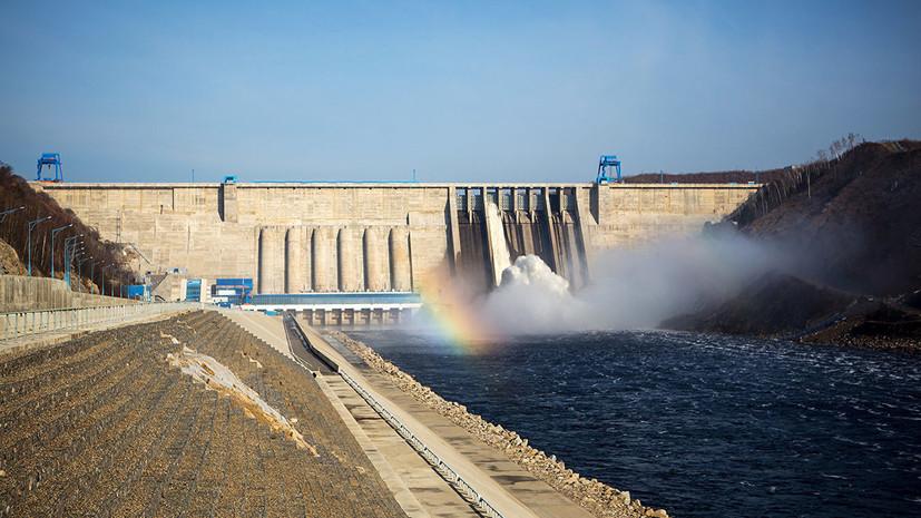 «Русгидро» подтвердило сообщения о почти полном перекрытии реки Буреи в Хабаровском крае