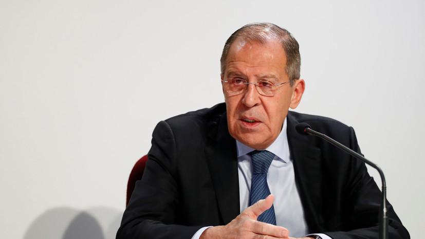 Глава МИД Пакистана намерен встретиться с Лавровым в Москве