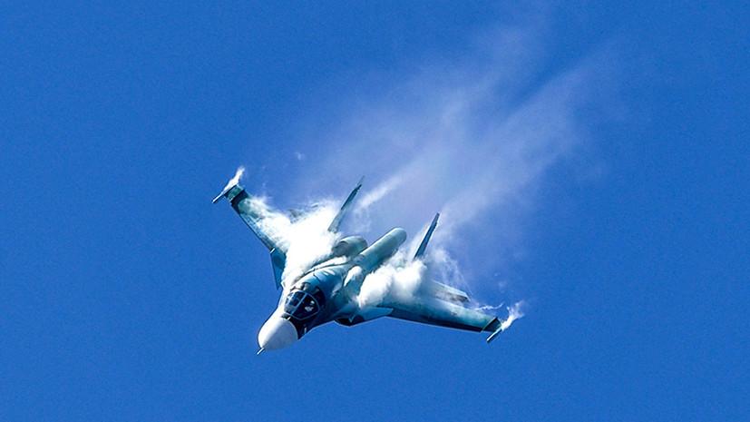В Курганской области прошли учения с участием Су-34 и Су-24