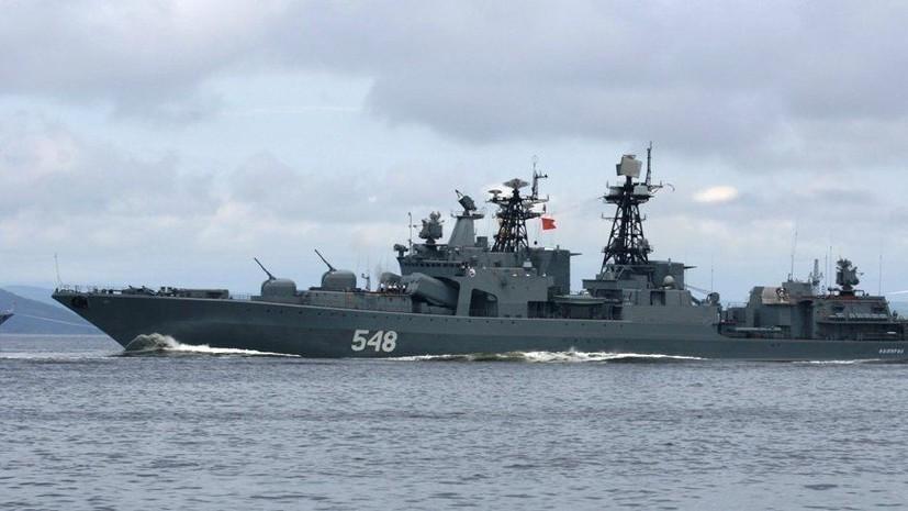 Отряд кораблей Тихоокеанского флота завершил визит на Шри-Ланку