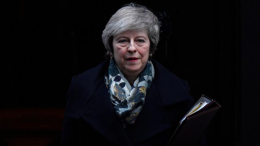 Посольство отреагировало на слова Мэй о защите от «российского вторжения»
