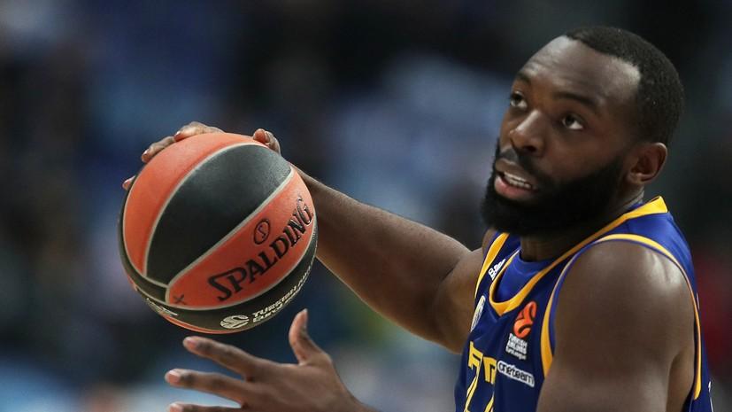 «Химки» разгромили «Зенит» в баскетбольной Единой лиге ВТБ