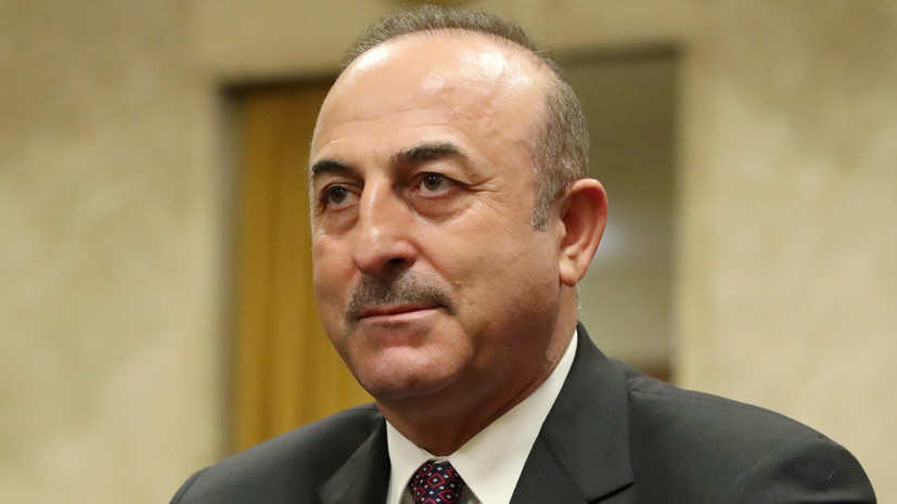 Чавушоглу заявил о решимости Турции начать операцию в Сирии