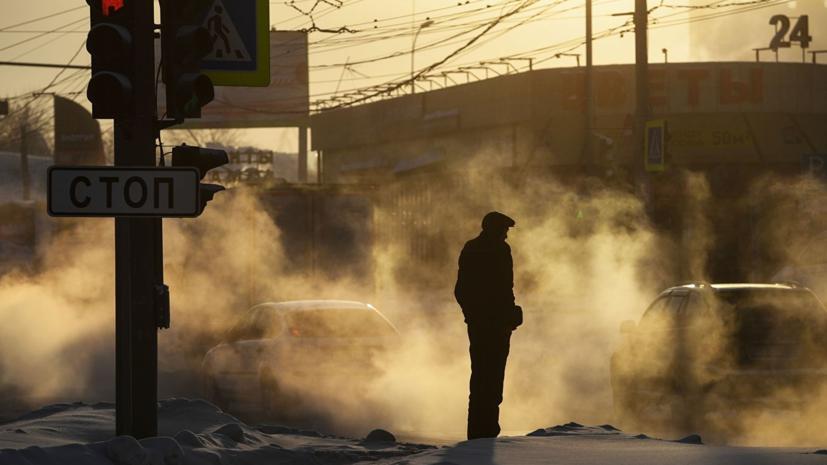 Аномальные морозы в Новосибирской области продлятся до 28 декабря