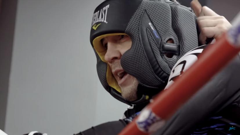 UFC опубликовал видео поединка Дзюбы и Волкова
