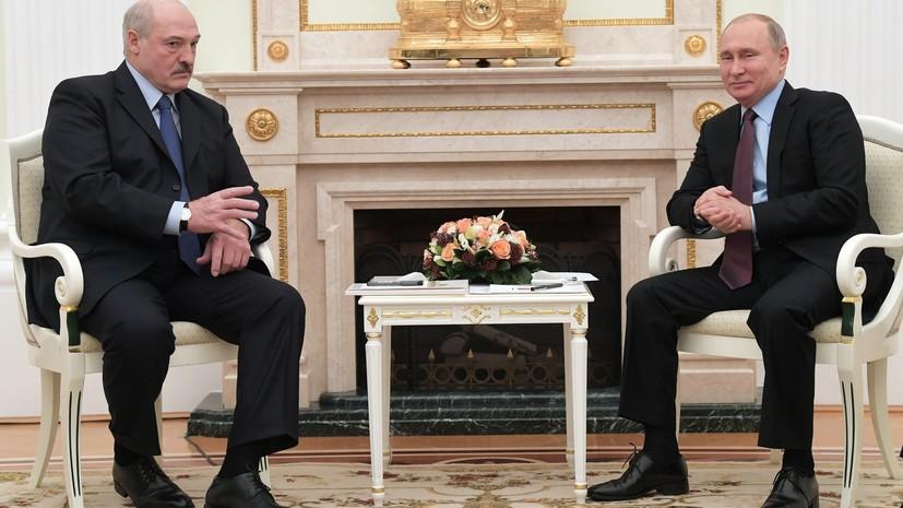 В Кремле подтвердили договорённость о новой встрече Путина и Лукашенко