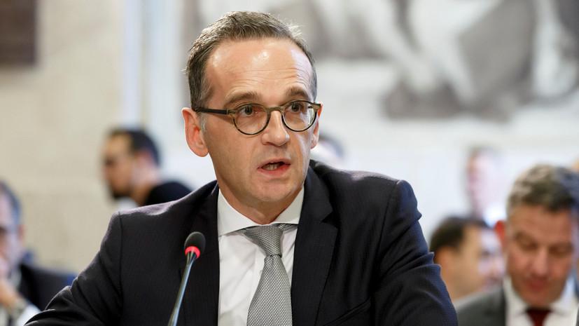 Глава МИД Германии выступил против размещения новых ракет в Европе