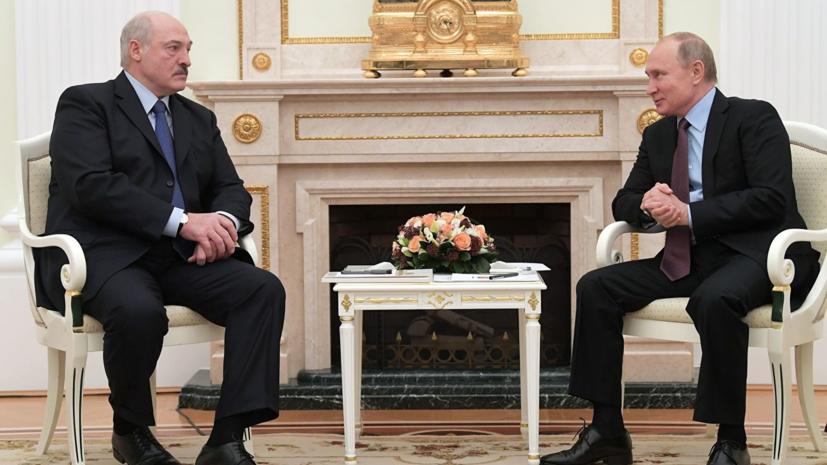 Песков объяснил, почему Путин и Лукашенко проведут ещё одну встречу в 2018 году