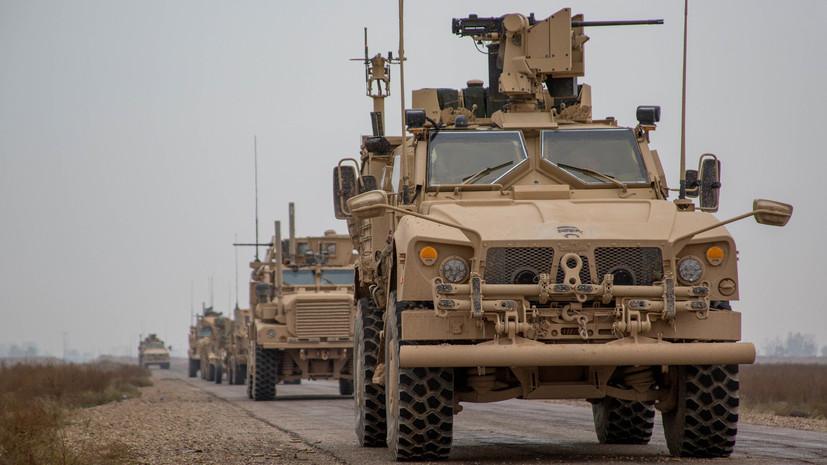 Захарова: ясности по временному графику вывода войск США из Сирии нет