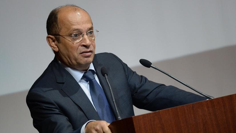 Прядкин ответил ФИФА по поводу обвинений турнира в Крыму