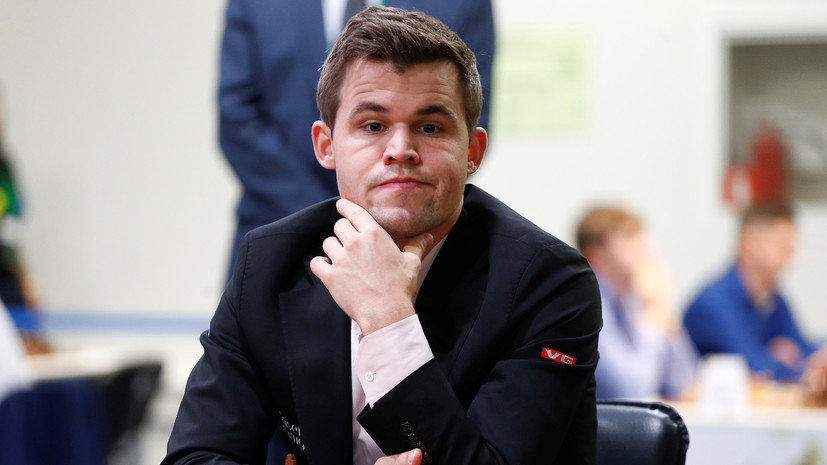 Карлсен потерпел второе поражение на ЧМ по быстрым шахматам