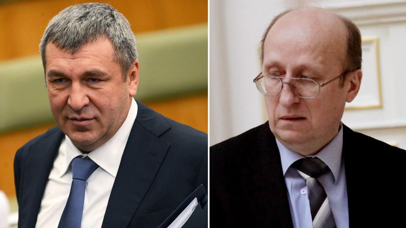 Кадровые перестановки: вице-губернаторы Санкт-Петербурга Албин и Мокрецов ушли в отставку