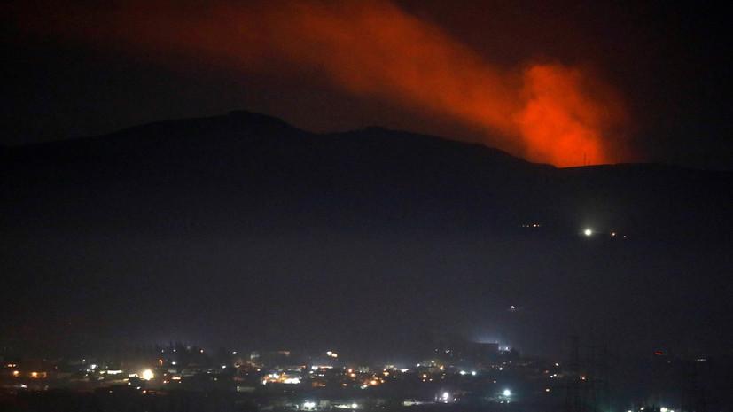 «Создали угрозу пассажирским самолётам»: Минобороны РФ назвало провокационными авиаудары Израиля по окрестностям Дамаска