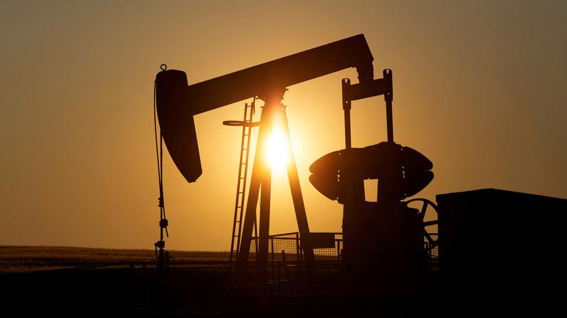 Цена на нефть WTI растёт более чем на 5%