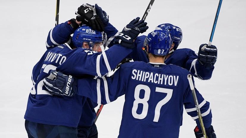 Шайба Шипачёва в овертайме принесла «Динамо» победу над «Йокеритом» в КХЛ