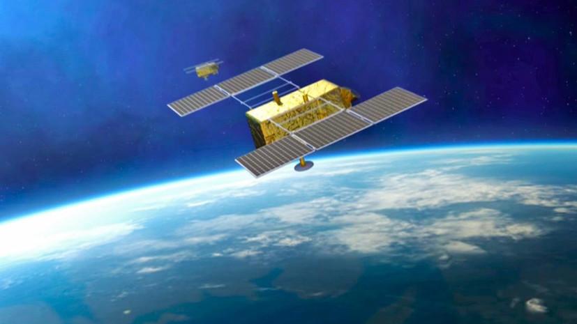 Запущенные с космодрома Восточный спутники взяты на управление