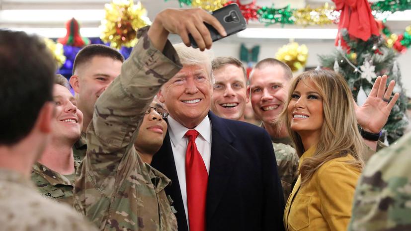 Смена амплуа: как Трамп пообещал избавить США от роли мирового жандарма