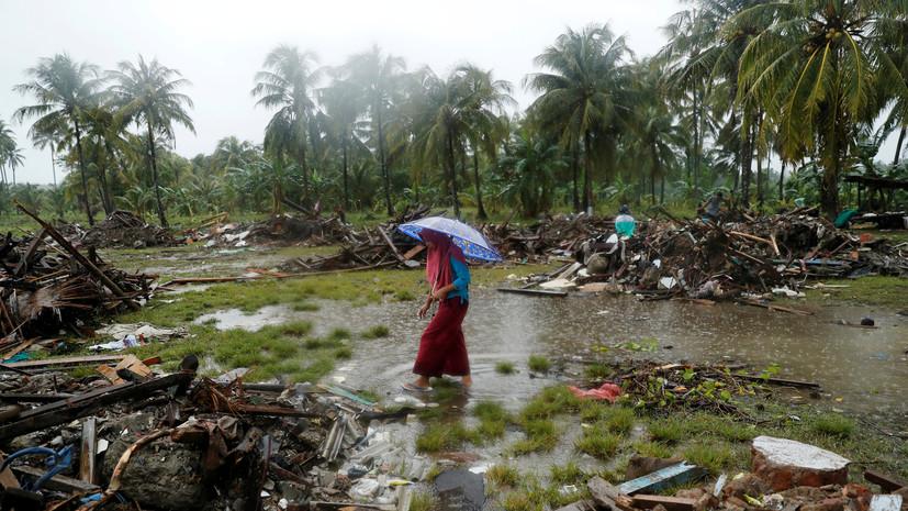 Россиян предупредили об угрозе повторного цунами в Индонезии
