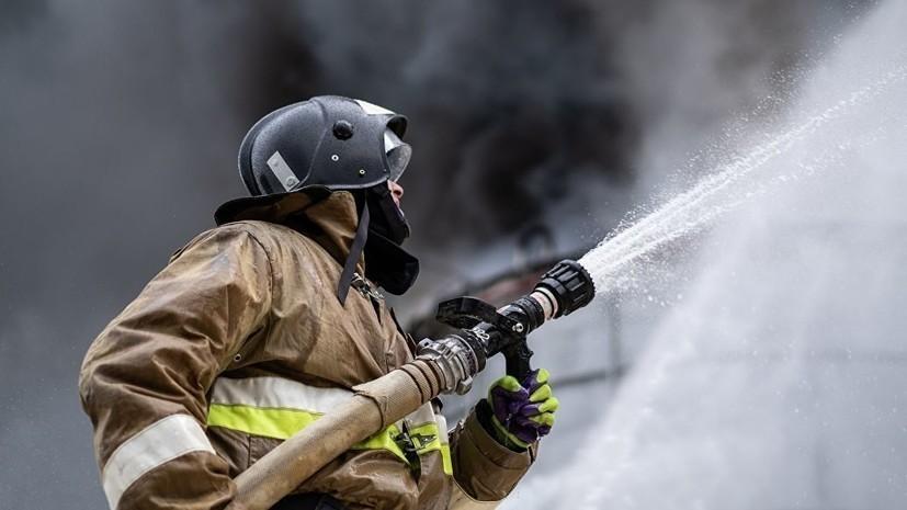 Спасатели ликвидировали пожар в центре Москвы