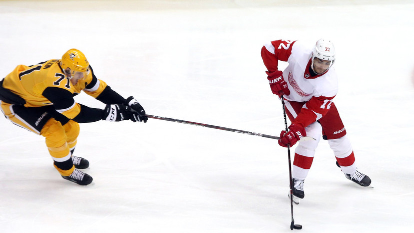 Две передачи Малкина помогли «Питтсбургу» взять верх над «Детройтом» в НХЛ