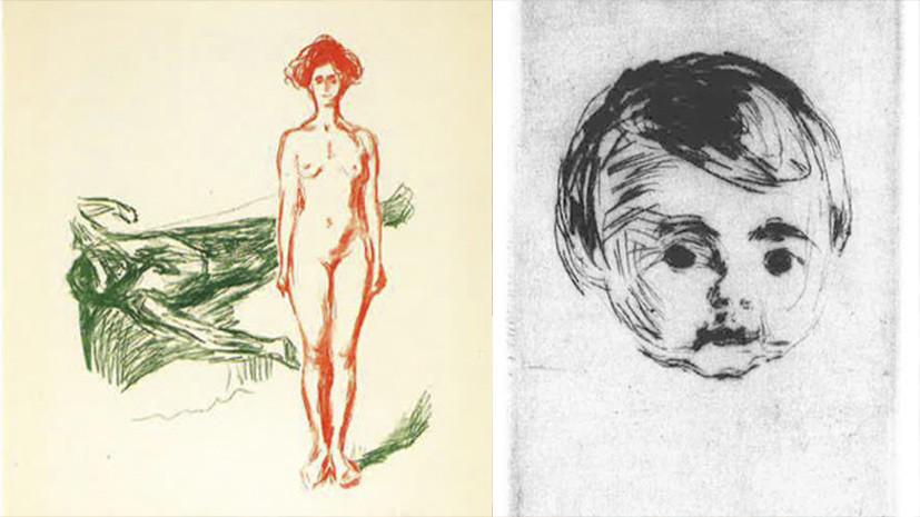 Из музея в Осло пропали шесть картин Эдварда Мунка